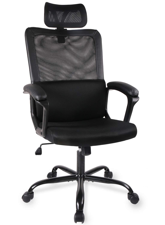 Smugdesk Ergonomic Adjustable Headrest Computer
