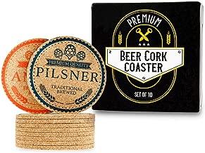 Best cork beer coasters Reviews