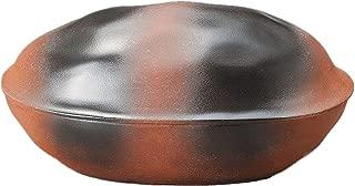 【国内・海外配送対応】萬古焼 ほくほく石焼き芋鍋 電子レンジ可 天然石約300g付 SE0104