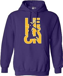 Lebron Fan Wear 23 Los Angeles LA Basketball DT Sweatshirt Hoodie