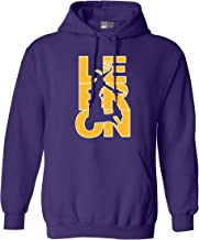 Beach Open Lebron Fan Wear 23 Los Angeles LA Basketball DT Sweatshirt Hoodie