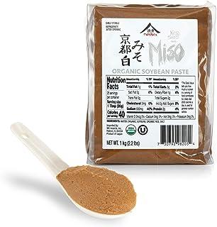 Organic Kyoto Shiro White Miso Paste by Namikura Miso Co. (2.2 pound)