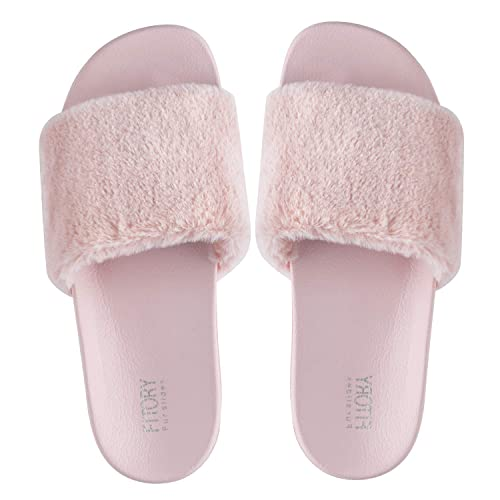 c9fe26a26ad8 FITORY Ladies Sliders Slippers