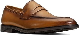 حذاء بدون رباط للرجال من كلاركس، مقاس 9.5 UK, (بني), 9.5 UK