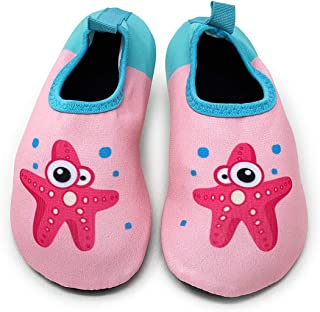 EB Outdoor Kids Water Shoes for Girls and Boys Toddler to Little Kids Anti Slip Quick Drying Water Socks