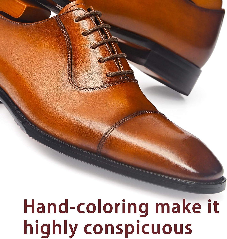 Men's Dress Oxford Formal Shoes LeatherBusiness Shoes for Men