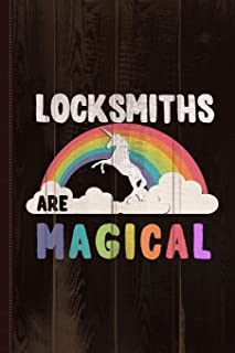 Locksmiths Are Magical Journal Notebook: Blank Lined Ruled For Writing 6x9 110 Pages