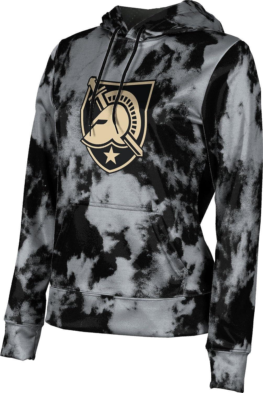 United States Military Academy Girls' Pullover Hoodie, School Spirit Sweatshirt (Grunge)