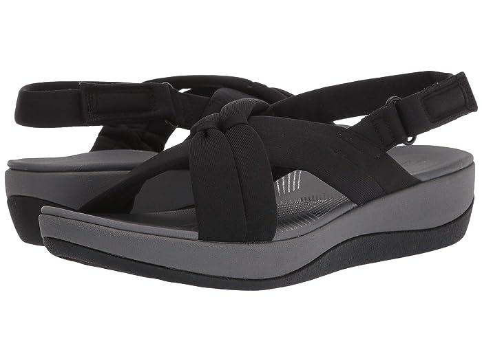 Clarks  Arla Belle (Black Textile) Womens Shoes