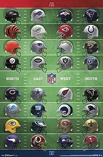 Trends International NFL League - Helmets Wall Poster, 22.375