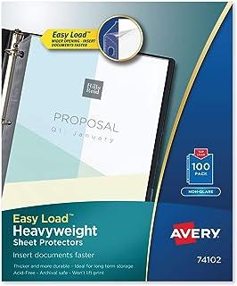 واقي ورقة أفيري ثقيل الوزن وسهل التحميل بدون وهج