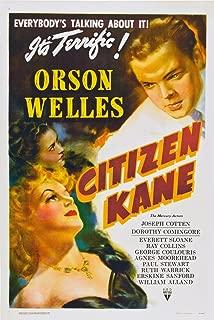 Posterazzi EVCMMDCIKAEC002H Citizen Kane Orson Welles 1941 Movie Poster Masterprint 11 x 17