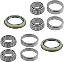 6 Piece Inner & Outer Wheel Bearing w/Seal Kit LH & RH Sides for Ford Mercury