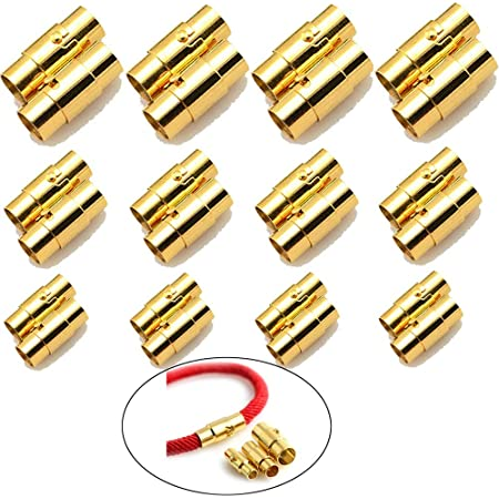 20pcs Fermoir à Homard Diy Cuir Corde Collier Bracelet Boucle