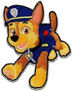Parches - Paw Patrol PATRULLA CANINA Chase - azul - 7,2x5,6cm - © Spin Master termoadhesivos bordados aplique para ropa