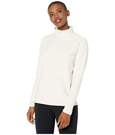 The North Face TKA Glacier 1/4 Zip (Vintage White/Vintage White) Women