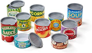 Melissa and Doug Let's Play House! Grocery Cans