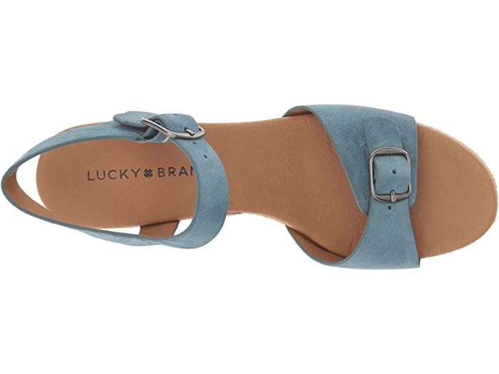 Lucky Brand Naveah Faded Denim