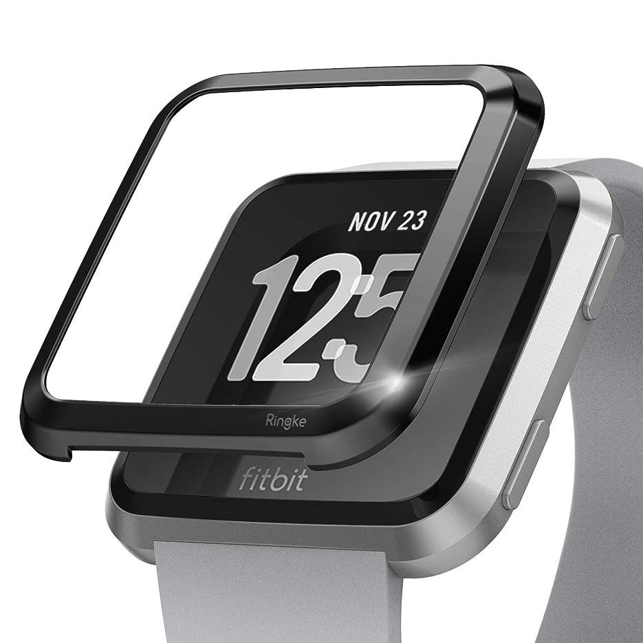 略語かんがいトマト[Kotech] Fitbit Versa 2 ケースソフト 耐衝撃 極薄型 Fitbit Versa 2 保護カバー Fitbit Versa 2 バンパー(ブラック)