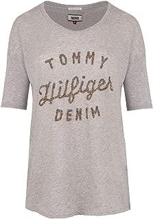 TOMMY HILFIGER KADIN T-SHIRT DW0DW01742-006