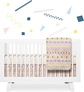 Babyletto 6-Piece Set, Fitted Crib Sheet, Crib Skirt, Play Blanket, Stroller Blanket, Contour Changing Pad Cover, Wall Decals, Desert Dreams