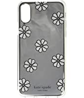 Kate Spade New York - Mirror Spade Flower Phone Case for iPhone XS