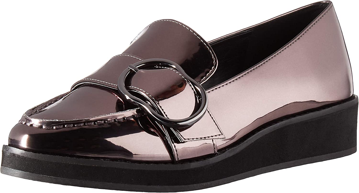 Nine West Womens Keppme Synthetic Moccasin