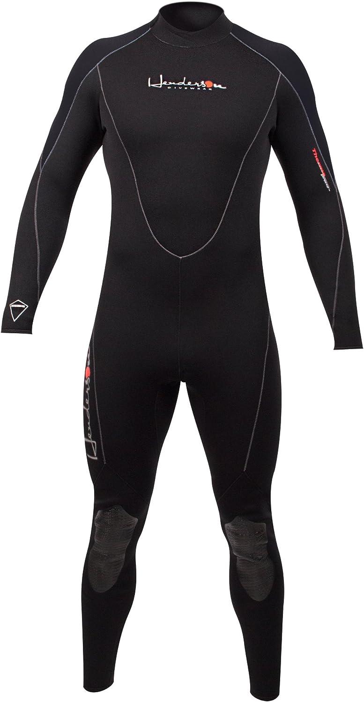Henderson Thermopren 7mm Full Jumpsuit Wetsuit Mens Blue