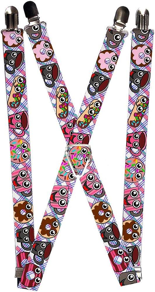 Buckle-Down Suspender - Donuts