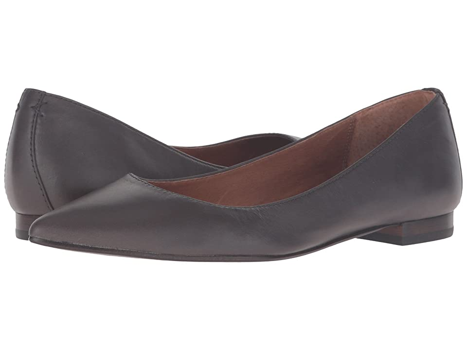 Frye Sienna Ballet (Smoke Soft Full Grain) Women