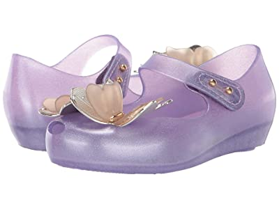 Mini Melissa Ultragirl Fly III BB (Toddler/Little Kid) (Lilac/Gold) Girl