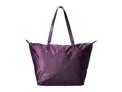 Lipault Paris Lady Plume Tote Bag M (Purple) Bags