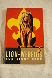Vintage Lion Webelos Cub Scout Book Boy Scouts of America 1954 No Writing