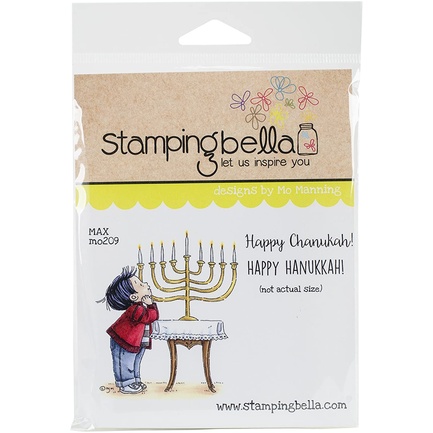 Stamping Bella MO209 Cling Stamp 6.5 x 4.5 in. - Max