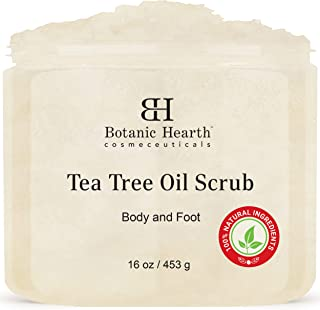 Sponsored Ad - Botanic Hearth Tea Tree Scrub for Body and Foot – 100% Natural, Exfoliating Scrub Made with Pure Tea Tree O...