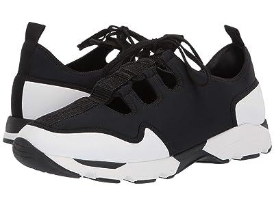 MARNI Neoprene Runner Sneaker (Lily White/Black) Men