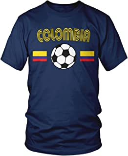 Men's Colombia Soccer, Colombian Football T-Shirt