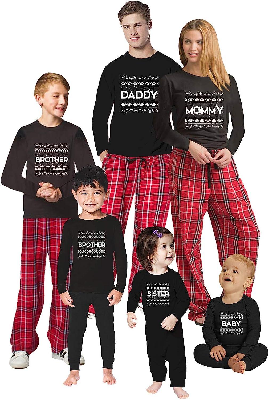 Awkward Styles Christmas Pajamas for Family Xmas Pattern Daddy Mommy Matching Christmas Sleepwear Men PJ Set Style 1 XL