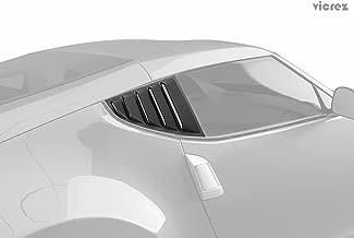 Best 370z window louvers Reviews