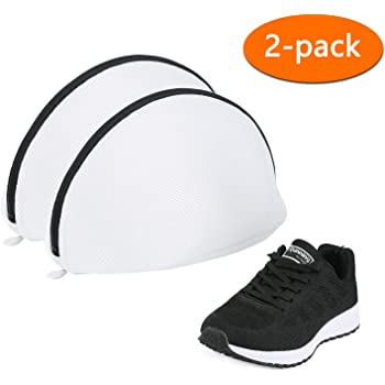AJOXEL Paquete de 3 Bolsas de Lavado para Zapatos, Saco Lavadora ...