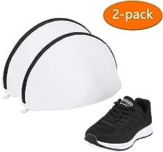 Eono by Amazon - Saco Lavadora para Zapatos, Premium de Malla de Lavandería para Zapatos / Zapatos de deporte, Bolsa para Colada Bolsa para Lavadora de Malla (Juego de 2)