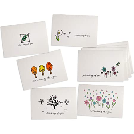 Thank You Cards Dandelion in the Breeze