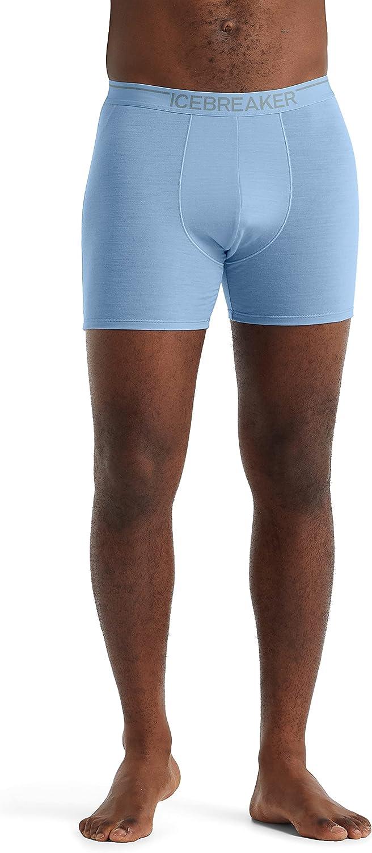 Icebreaker Merino Men's Anatomica Boxer Underwear