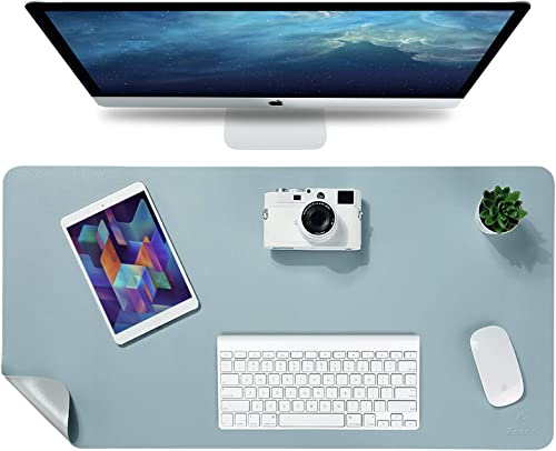 "Knodel Desk Pad, Office Desk Mat, 35.4"" x 17"" PU Leather Desk Blotter, Laptop Desk Mat, Waterproof Desk Writing Pad f..."
