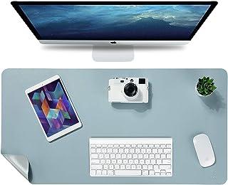 "Knodel Desk Pad, Office Desk Mat, 31.5"" x 15.7"" PU Leather Desk Blotter, Laptop Desk Mat, Waterproof Desk Writing Pad for ..."