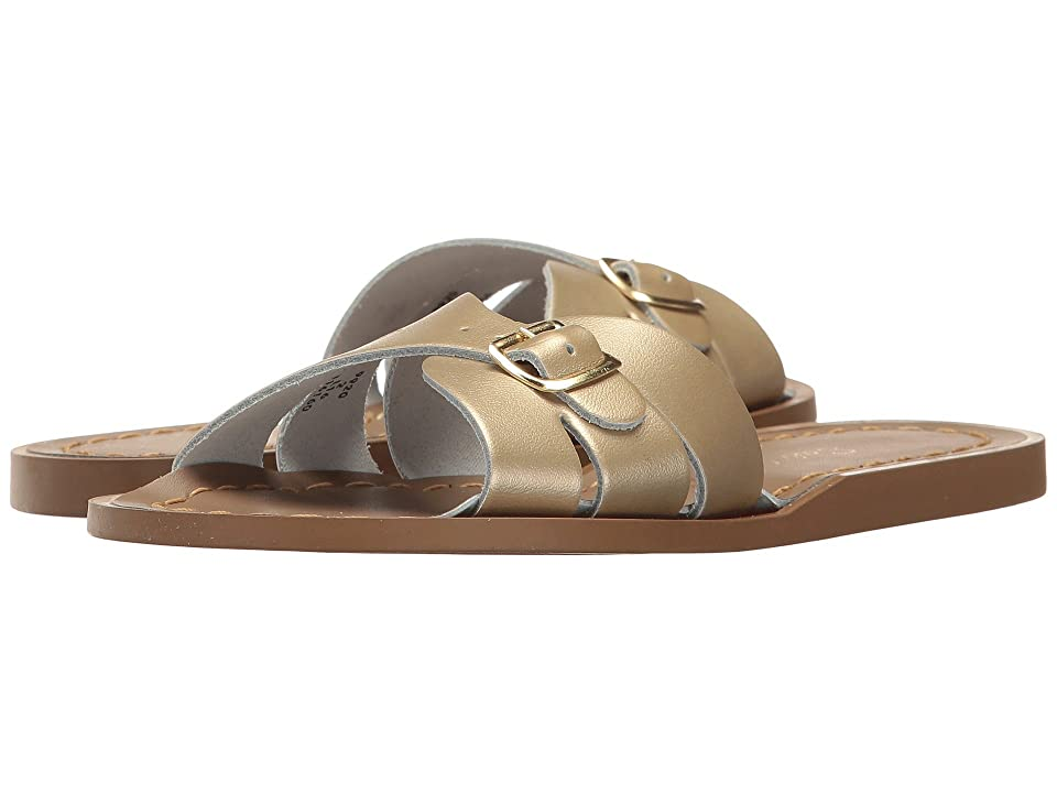 Salt Water Sandal by Hoy Shoes Classic Slide (Little Kid) (Gold) Girls Shoes