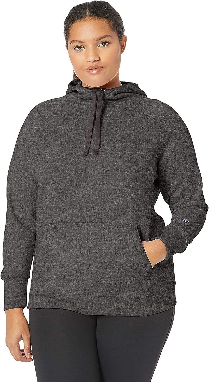 Champion Women's Plus Size Fleece Pullover Hoodie
