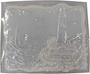 Lighthouse Concrete Plaster Stepping Stone Mold 1102
