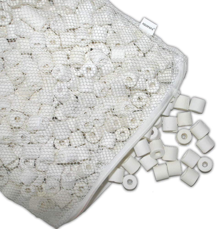 Aquapapa 5 lbs Bio Ceramic Rings Aquarium Filter Media