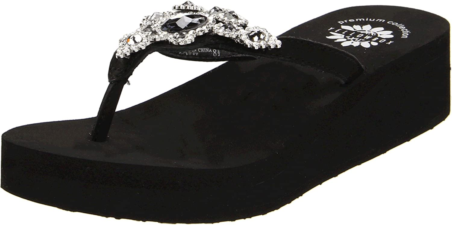 Yellow Box Women's P-Cailey Flip Flop